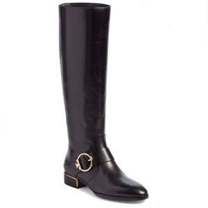 NWOT Tory Burch Sofia Riding Boots Size 10M Black